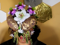 Imidacloprid Mask - Soy, hay, walnut, and lemon flowers
