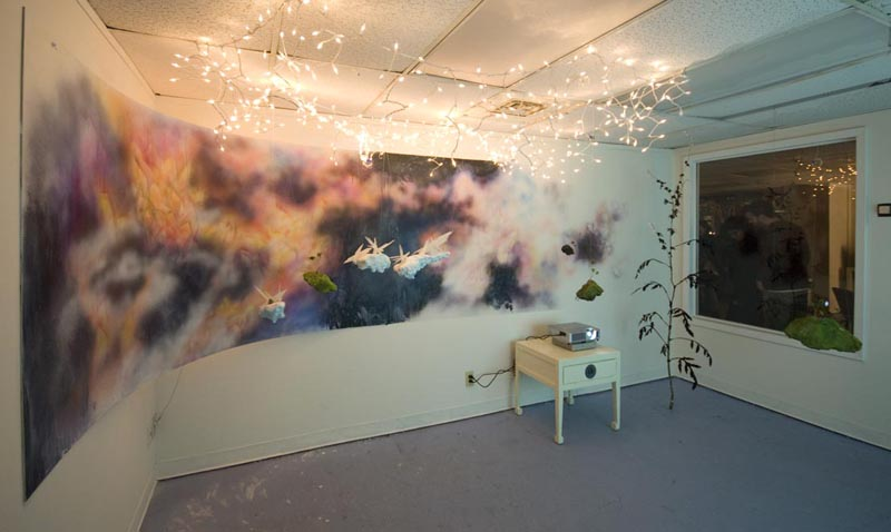 Butterflies Shift North - Installation Shot